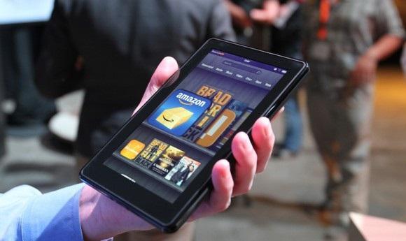 Amazon Kindle Fire modelinin maliyeti 209.63$'ı buluyor