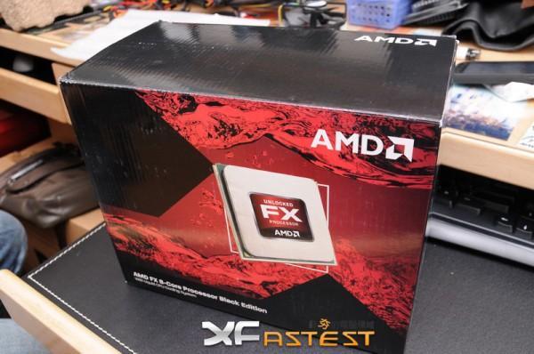 AMD'nin sıvı soğutma ile gelen Bulldozer FX işlemcisi görüntülendi