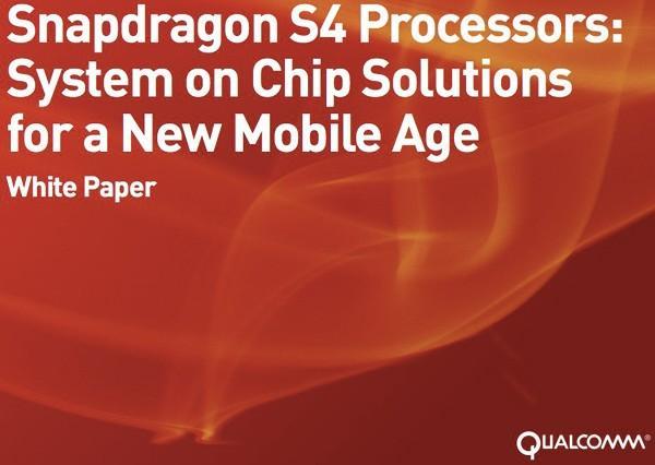 Qualcomm yeni Snapdragon S4 yongada sistemin ayrıntılarını paylaştı