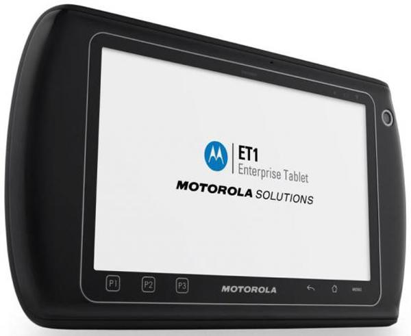 Motorola'dan kurumlara özel tablet bilgisayar; ET1
