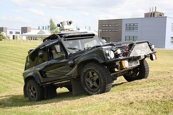 Oxford araştırmacıları insansız Wildcat aracının gösterimini yaptı