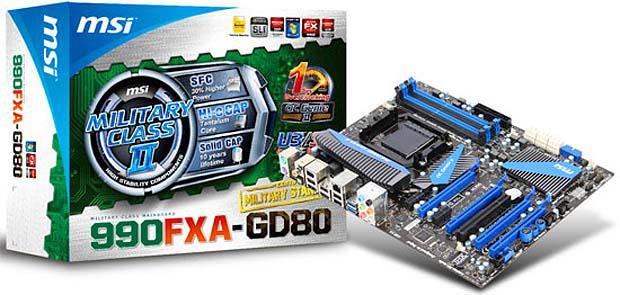 MSI, AMD FX işlemcilerle uyumlu anakartlarının listesini yayınladı