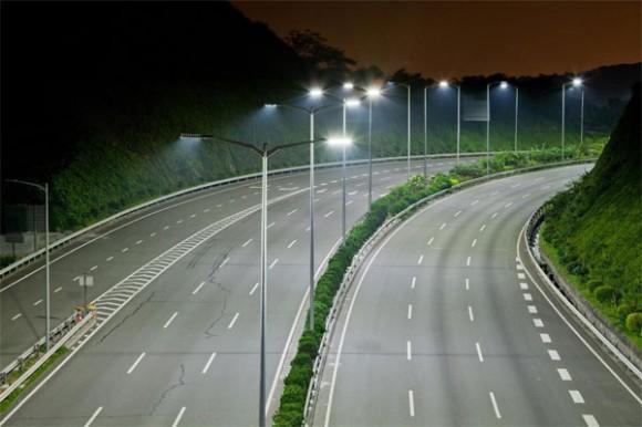 Dünyanın ilk LED aydınlatmalı otoyolu Cree tarafından Çin'de inşa ediliyor