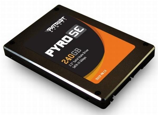 Patriot, Pyro SE serisi SATA-III destekli SSD'lerini duyurdu