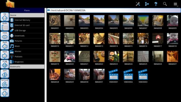 ASTRO File Manager tabletler için optimize edildi