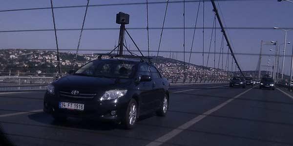 Yandex araçları Street View görünümü için Türkiye'yi dolaşmaya başladı