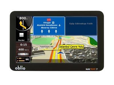Yolları Gerçekten Gösteren Navigasyon: OblioNavMax 7