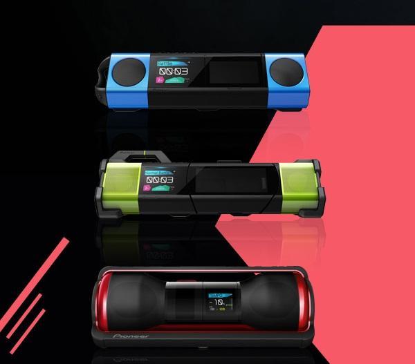 Pioneer'dan yeni taşınabilir ses sistemi Steez