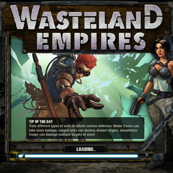 CrowdStar'dan strateji tabanlı hardcore oyunculara yönelik ilk sosyal oyun Wasteland Empires geliyor