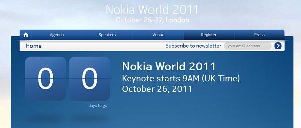 Nokia World 2011 etkinliği başlıyor