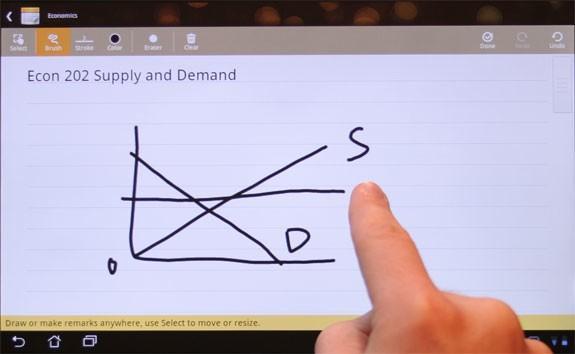 ASUS tabletler için Android 3.2 güncellemesinde Supernote uygulaması da sunuluyor