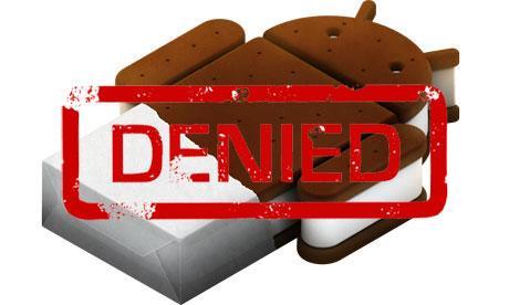 Nexus One Ice Cream Sandwich güncellemesi alamayacak