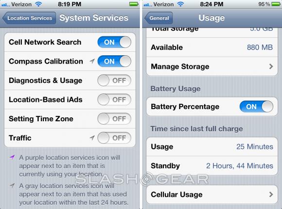 iPhone 4S batarya sorunu Zaman Dilimi Ayarları seçeneğinden kaynaklanıyor olabilir