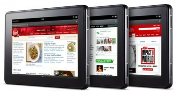 Amazon'un sonraki nesil Kindle Fire cihazı 8.9 inç olabilir