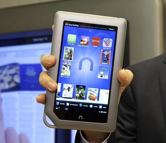 NOOK Tablet resmi olarak tanıtıldı