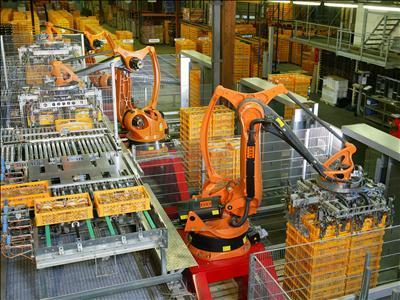 Hon Hai robot üretimi tesislerini Taichung'da hayata geçiriyor