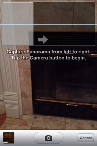 iOS 5 kamera uygulamasında gizli panorama modu jailbreak esnasında ortaya çıktı