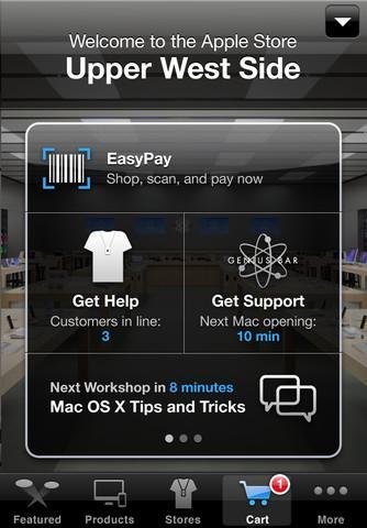 Apple, 'EasyPay' adlı yeni bir ödeme sistemini hayata geçirdi