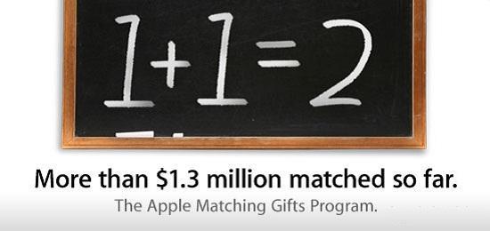 Apple çalışanların bağış kampanyasına 1.3 milyon dolar yardım yaptı