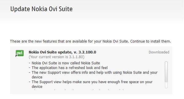 Ovi Suite yazılımı Nokia Suite'e dönüşüyor