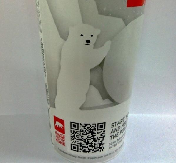 Coca Cola ABD'de ilk QR kod kampanyasını başlattı