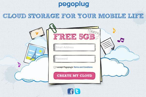Pogoplug Cloud bulut depolama hizmeti 5GB kapasite ile yeni bir alternatif sunuyor