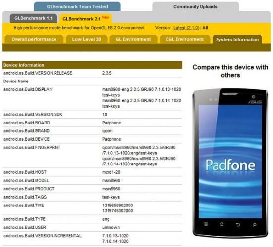 Asus, Padfone işlemcisinde güncellemeye gitti