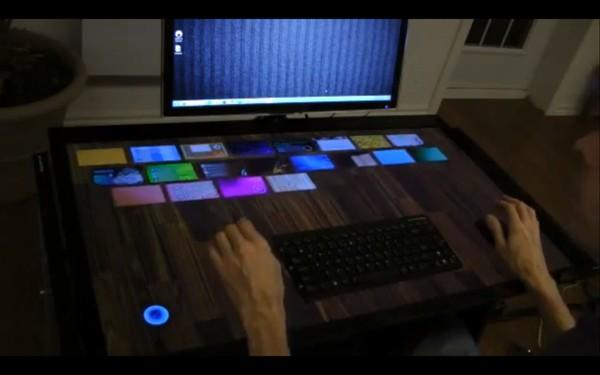ExoPC'den 40 inçlik dokunmatik masa EXOdesk