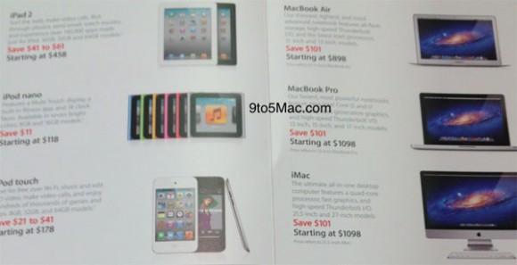 Apple'ın Kara Cuma 2011 reklam broşürü ortaya çıktı