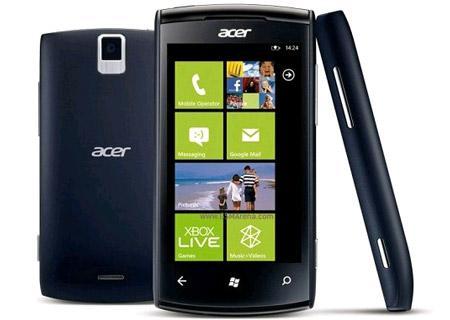 Windows Phone Mango yüklü Acer Allegro Fransa ve Tayvan'da resmi olarak satışa sunuldu