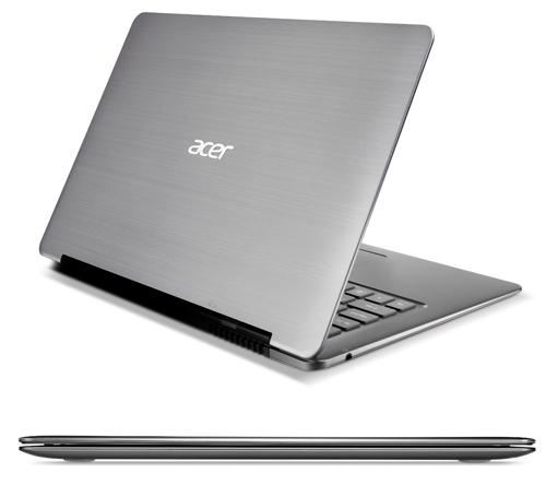 Acer, Ultrabook fiyatlarını 2012 2. çeyrekte 799$-899$ aralığına çekmeyi planlıyor