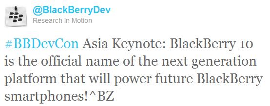 RIM, BBX marka davasını kaybetti, BlackBerry 10 olarak değiştirdi