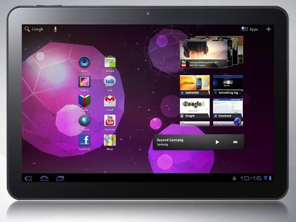 Galaxy Tab 10.1, Avustralya'da tamamen serbest