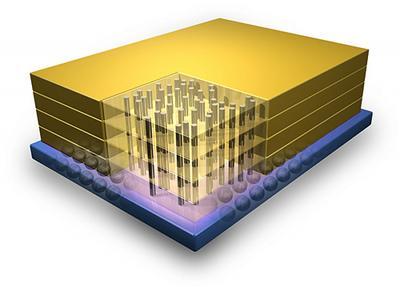 IBM ve Micron tarafından geliştirilen 3D DRAM bellekler 128Gbps bantgenişliğine imkan tanıyor