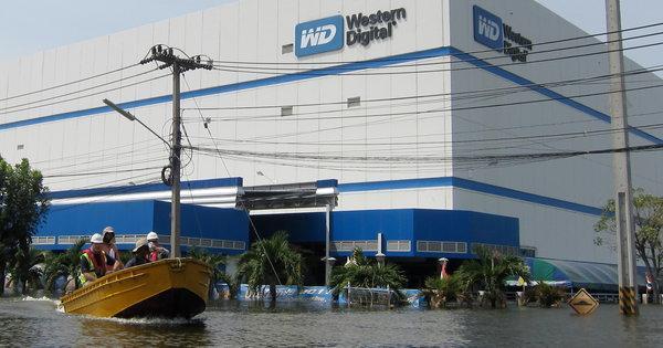 Tayland felaketi bilgisayar sektörünü önümüzdeki yıl vuracak
