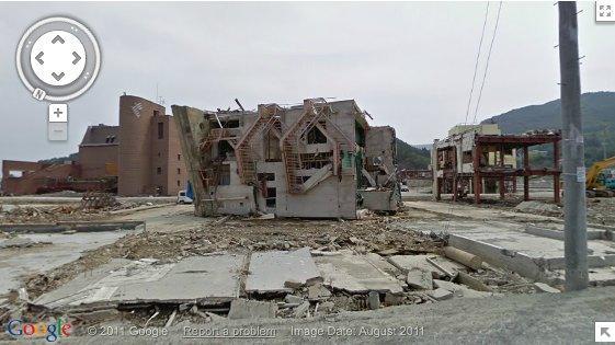 Google, Street View özelliğine tsunami sonrası Japonya görüntülerini de ekledi