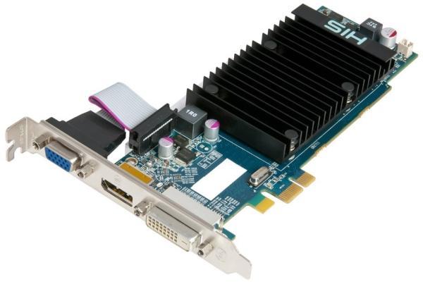 HIS'den 2GB bellekli ve PCIe x1 uyumlu Radeon HD 6450