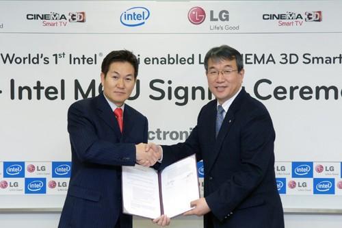 Intel ve LG firmaları aparat olmadan WiDi yayınlarını HDTV'lere getirmek için anlaştı