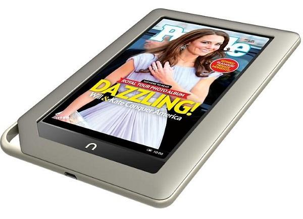 Barnes & Noble firmasının Nook Tablet modeli 1 milyon satış barajını geçti