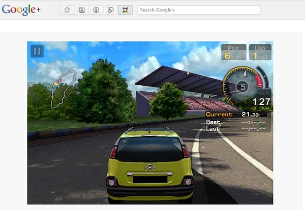 Gameloft'tan Google+ için GT Racing: Motor Academy yayınlandı