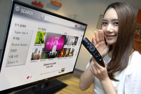 LG'nin yeni nesil TV kumandası Magic Remote akıllı TV'ler için ses komutlarını mümkün kılıyor