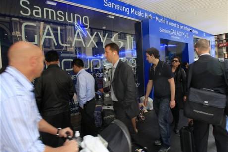 Samsung, patent davalarına rağmen Avustralya'da bir numaralı telefon satıcısı oldu