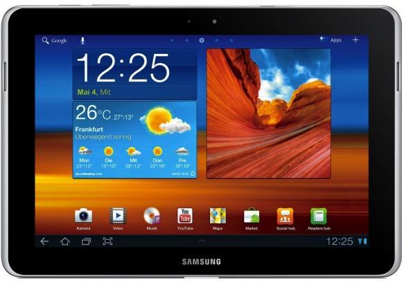 Apple'ın Galaxy Tab 10.1N modeline satış yasağı konması talebi reddedildi