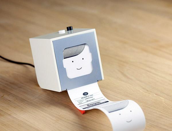 Evinizdeki en küçük yazıcı : Little Printer