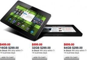 RIM'den PlayBook kampanyası ile tüm modeller 299$