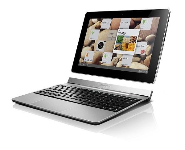 CES 2012 : Lenovo'dan bu kez klavye docklu tablet