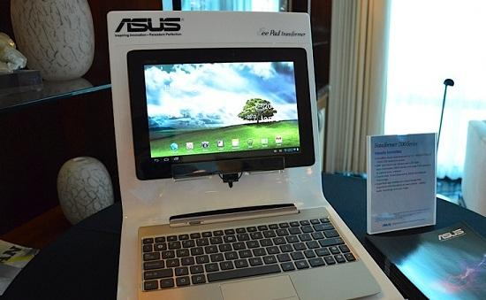 CES 2012 : Transformer Prime şimdi Full HD ekrana sahip