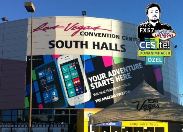 Fx57 ile CES 2012 fuarındayız