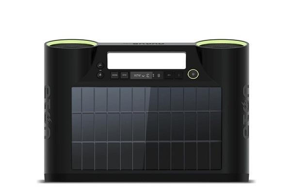 CES 2012 : Rukus'dan güneş enerjili Bluetooth ses sistemi