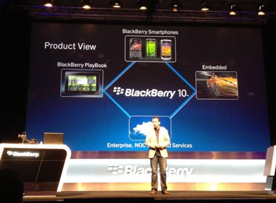 Bu yıl iki yeni PlayBook tablet  ve BB 10 akıllı telefon piyasaya çıkacak